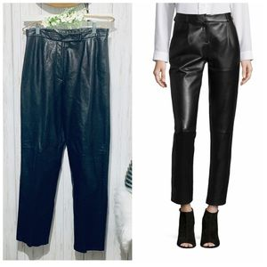 Sienna Studio Leather High Waisted Pants
